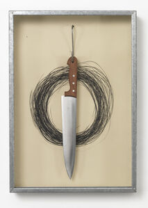 Jannis Kounellis, 'UNTITLED (HANGING KNIFE)', 1991