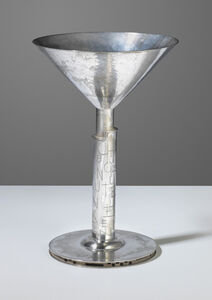 Christian Dell, 'A footed cup', 1920s