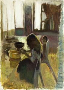 Leonid Balaklav, 'Interior with Children', 2001