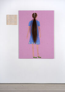 Jenny Watson, 'Girl from the back', 2019