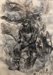 Michael K. Paxton, 'Worker', 1993