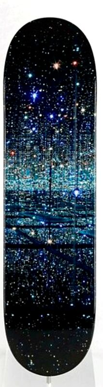 Yayoi Kusama, 'The Souls of Millions of Light Years Away (Infinity Mirror) Skate Deck', 2013, Design/Decorative Art, Limited edition skateboard. Signed on the deck and numbered, Alpha 137 Gallery