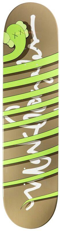 KAWS, 'Kaws x Krooked Skateboard (hand signed)', 2004, Other, Skateboard deck, Remes Advisory