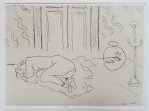 Interior with Sleeping Figure (Figure endormie dans un intérieur)