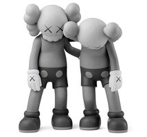 KAWS, 'Along The Way - Grey', 2019