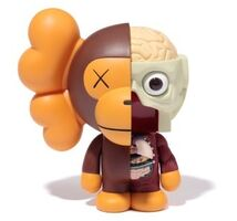 KAWS, 'Dissected Milo (Brown)', 2011