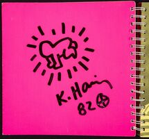 Keith Haring, 'Radiant Baby Drawing', 1982