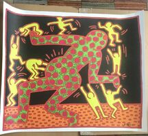 Keith Haring, 'Fertility – Untitled #3', 1983