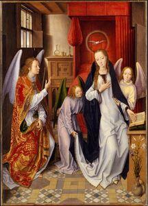 Hans Memling, 'The Annunciation', 1480–1489