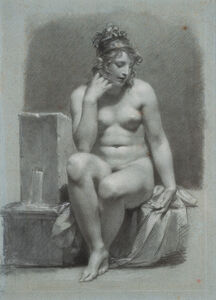 Pierre-Paul Prud'hon, 'La Source', 1800-1810