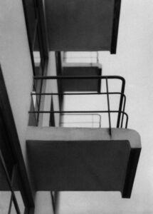 Iwao Yamawaki, 'Untitled (Bauhaus balcony)', 1930, 1932, printed later