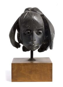 Floriano Bodini, 'Head of a young girl'