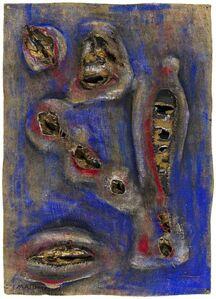 Umberto Mastroianni, 'Fosforescenze', 1960