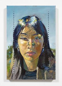 Yung Jake, 'Untitled Portrait of Angel (ganster tweety birds, debbie, charlotte, vince, numbuh 3 and syd)', 2020