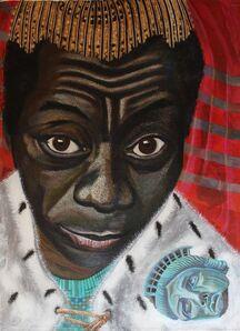 Eria Sane Nsubuga, 'King James (Baldwin)', 2020