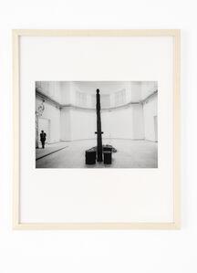 Barbara Klemm, 'Biennale Venedig, Deutscher Pavillon, Joseph Beuys', 1976