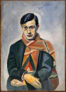 Robert Delaunay, 'Retrato de Tristan Tzara (Portrait of Tristan Tzara)', 1923