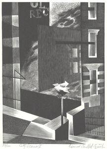 Bernard Brussel-Smith, 'City Scene I [New York]', 1949