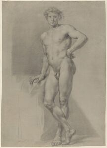 Anton Raphael Mengs, 'Male Nude Study'