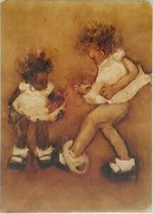 Kim Dingle, 'Never In School (Two Girls, One Kickin Her Underwear Off)', 2000