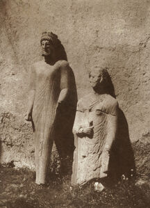 Louis de Clercq, 'Discovery of Votive Statues in the Cypro-classical Center of Cyprus, September 1859', 1859