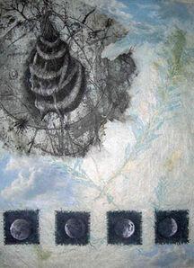 CathyJean Clark, 'Four Moons', 2016