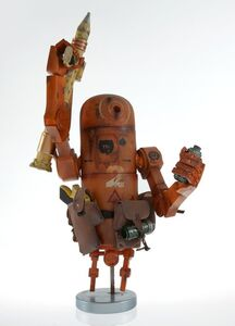 Ashley Wood, 'World War Robot: Bertie, Desert Combat', 2008