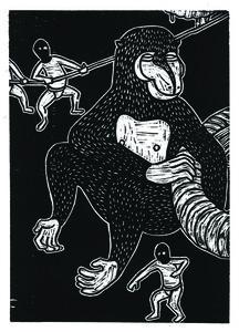 Jan Curious, 'Chinese Zodiac - Monkey', 2015