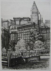 Walter Pach, 'New York', 1927