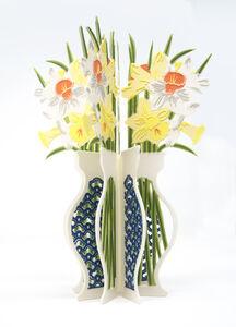 Janice Jakielski, 'Daffodil Book Vase', 2020