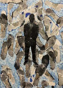 Omar Ba, 'A qui la faute', 2021