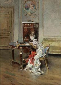 Giovanni Boldini, 'La Lettera (The Letter)', 1874