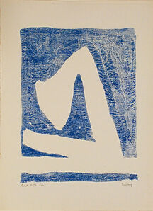 Robert Motherwell, 'Summertime in Italy (with Blue)', 1966