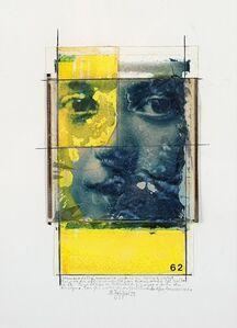 Natale Zoppis, 'From the series: Ritratto della Memoria, prove di pulitura', 1989