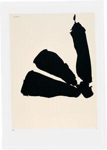 Robert Motherwell, 'Africa Suite: Africa 8', 1970
