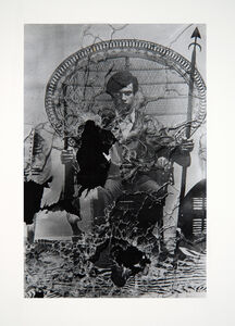 Stephen Shames, 'Huey Newton Poster After Attack on Panther Office by the Oakland Police', 1978