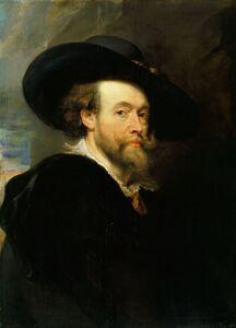 Peter Paul Rubens, 'A self-portrait', 1623
