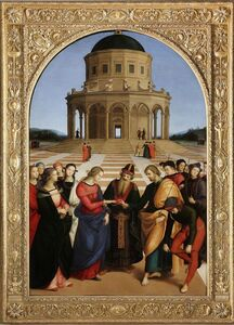 Raphael, 'The Marriage of the Virgin', 1504