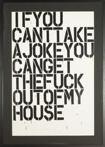 Christopher Wool, 'If you ', 1992-2005