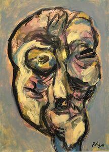 Rigo (José Rigoberto Rodriguez Camacho), 'Head 2 No. 1', ca. 2019