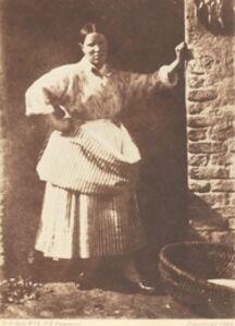 Hill & Adamson, 'A Newhaven Fisherwoman', 1844