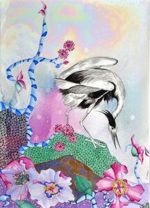 Paola Bari, 'White Heron', 2018