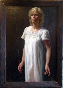 Steven Assael, 'Lady in White', ca. 2000