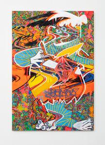 """Ruben Nieto, '""""Fred Flintstone"""" - After Picasso and Lichtenstein', 2020"""