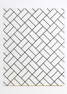 Patrick Hamilton, 'Abrasive Painting # 50 ', 2018