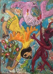 Enrique Canales, 'Angel y diablo'