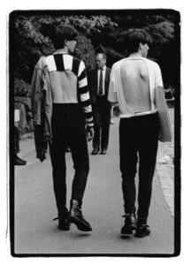 Amy Arbus, 'Backless T-shirts', 1980-1990