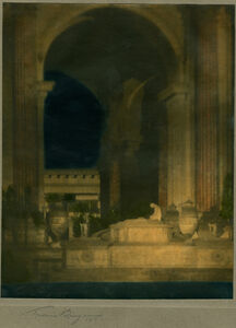 Francis Bruguière, 'Altar Before Rotunda', 1917