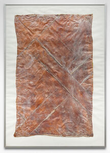 Heidi Bucher, 'Untitled (Floor piece from the men's room)', 1979