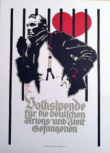 Ludwig Hohlwein, 'Prisoner of Love, HOLIDAY SALE $75 OFF THRU MAKE OFFER', ca. 1920